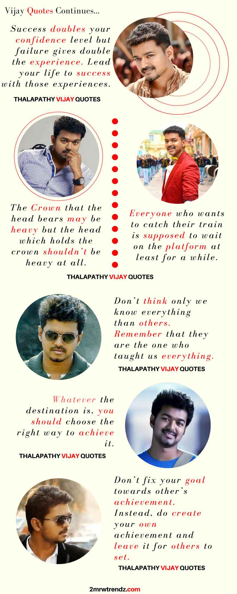 Actor Vijay Infographics