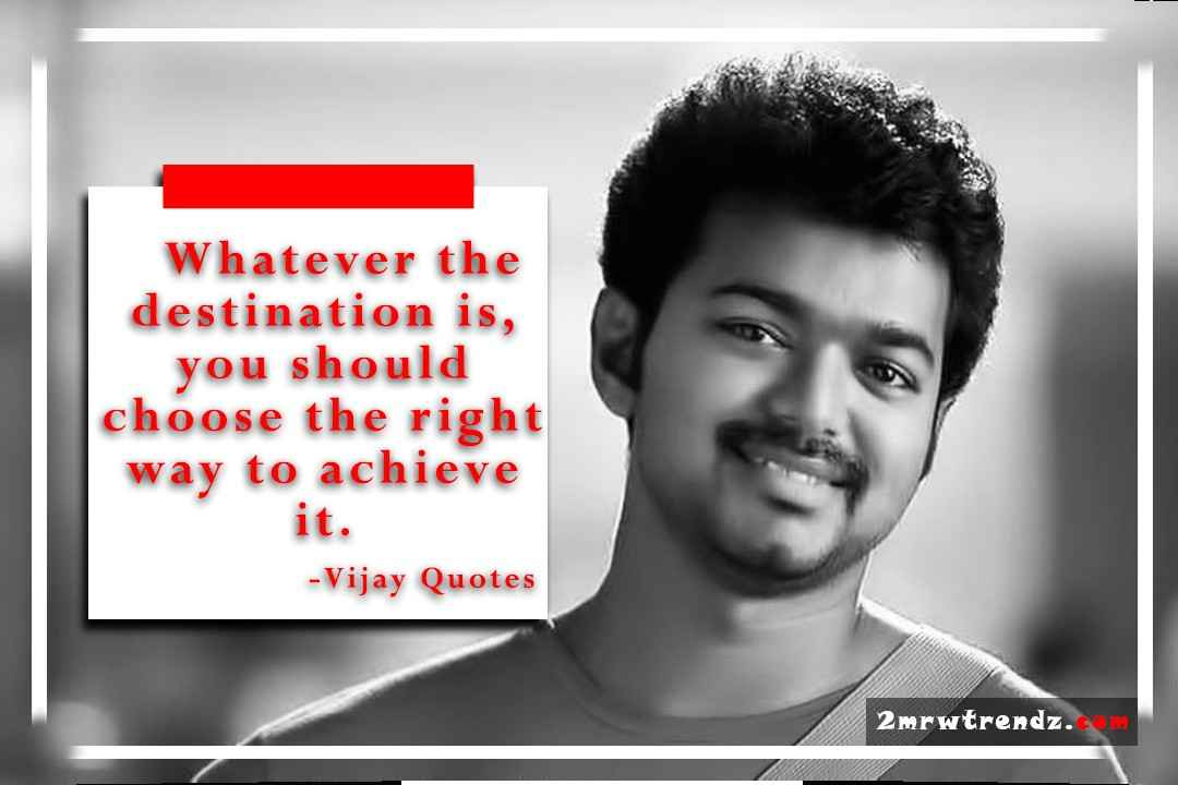 Thalapathy Vijay Images With Quotes