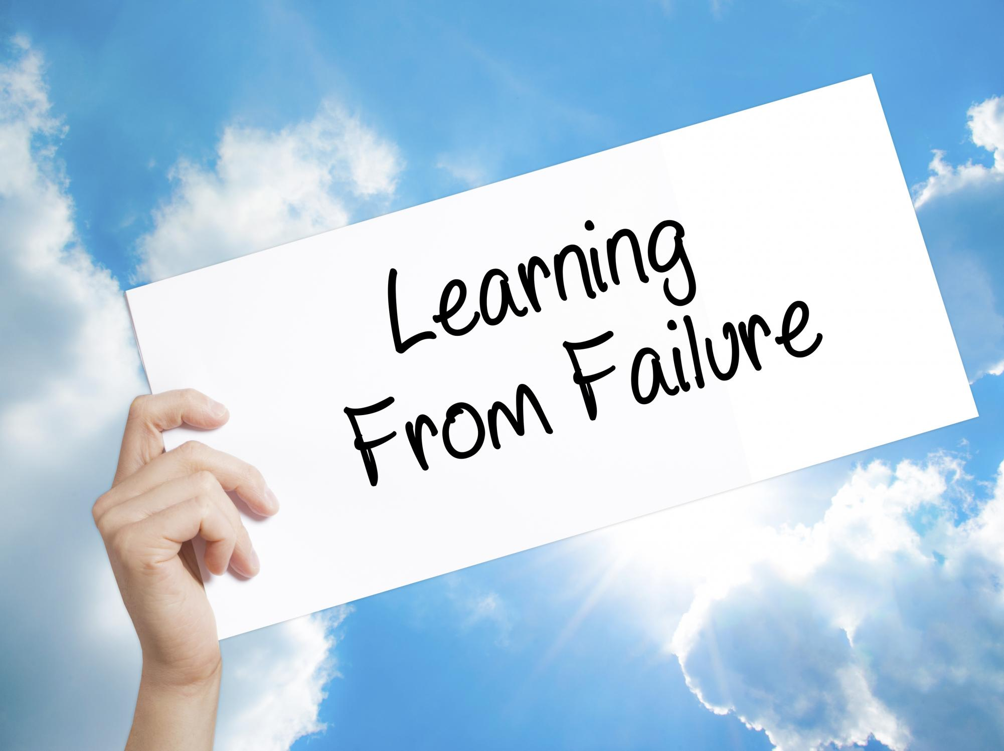 Seven things to Remember When you feel like a Failure